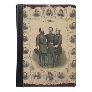 Civil War Heroes Stonewall Jackson Lee iPad Air Case