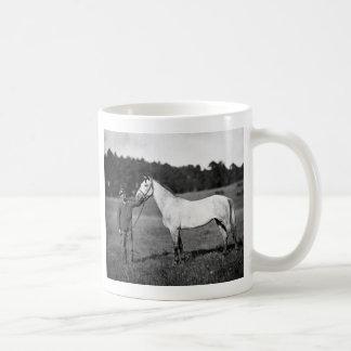Civil War Horse, 1860s Coffee Mug