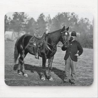 Civil War Horse, 1864 Mouse Pad