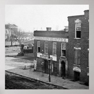 Civil War in Atlanta 1864 Posters