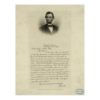 letter abraham lincoln mrs bixby mrs bixby letter gifts on zazzle 13109