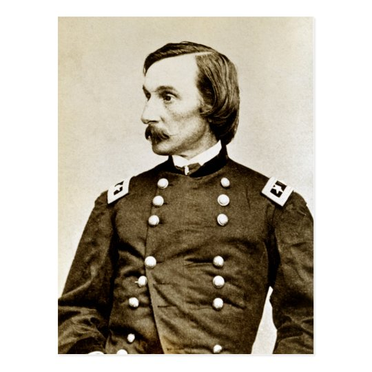 Civil War Major General G. K. Warren Postcard