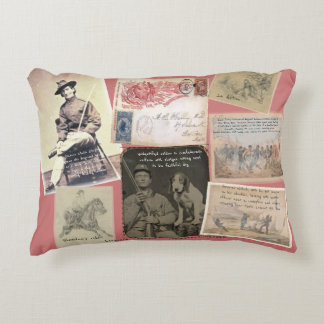 """Civil War Memorabilia"" Accent Pillow"