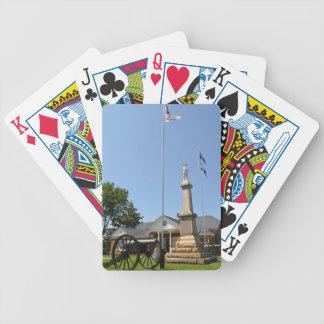 Civil War Memorial Deck Playing Cards