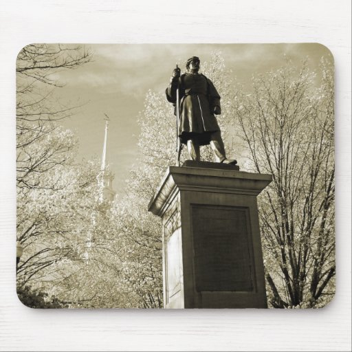 Civil War Monument, Central Square, Keene, NH Mouse Pad