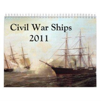 Civil War Naval Calendar calendar