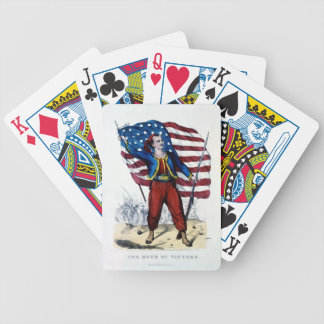 Civil War New York Zouaves Bicycle Playing Cards
