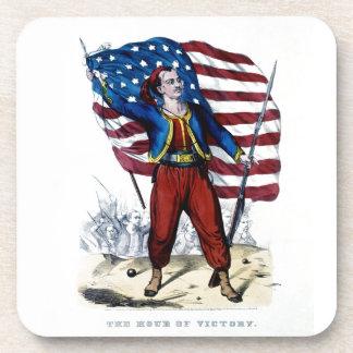 Civil War New York Zouaves Coaster