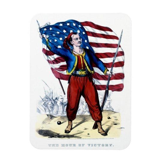 Civil War New York Zouaves Magnet