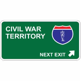 Civil War Next Exit Cut Outs