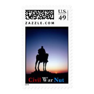 Civil War Nut Stamp