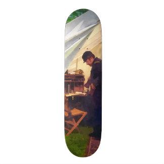 Civil War Officer s Tent Skate Board Deck