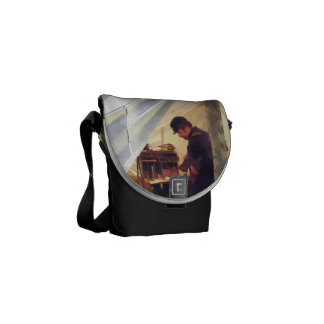 Civil War Officer's Tent Messenger Bag