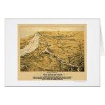 Civil War Panoramic Map 1861 Cards