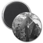 Civil War Photo Circa 1862 2 Inch Round Magnet