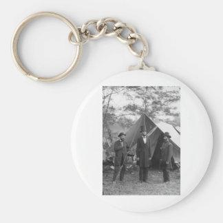 Civil War Photo Circa 1862 Keychains