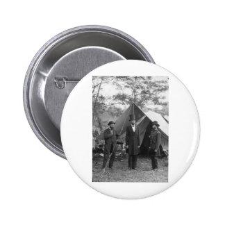 Civil War Photo Circa 1862 Pinback Button