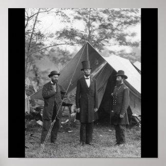 Civil War Photo Circa 1862 Print