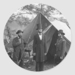 Civil War Photo Circa 1862 Sticker