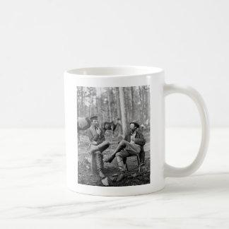 Civil War Pipes, 1864 Coffee Mug