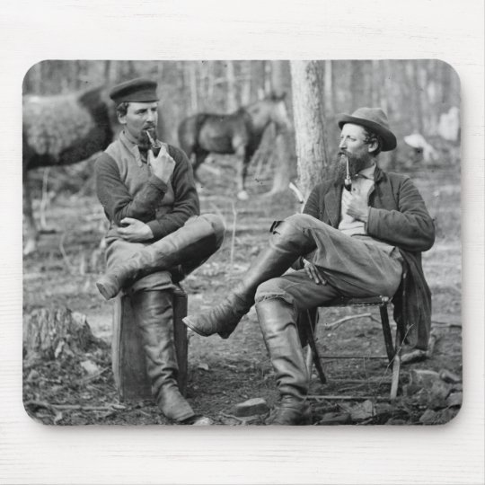 Civil War Pipes, 1864 Mouse Pad