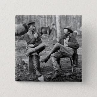 Civil War Pipes, 1864 Pinback Button