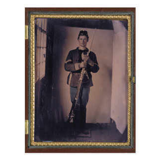 Civil War Portrait 001 Postcard