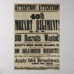 Civil War Recruiting Poster