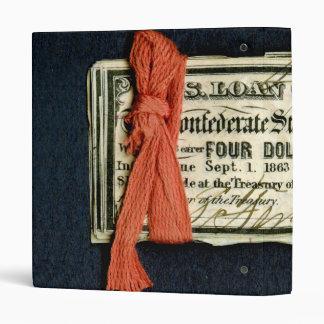 Civil War Red Tape Binder