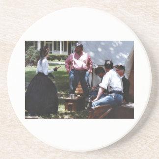Civil War Reenactment Coaster