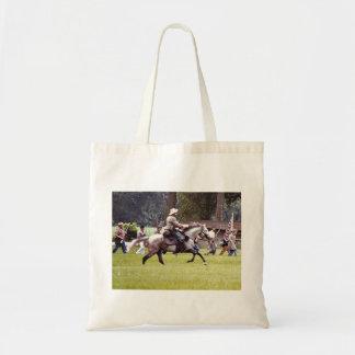 Civil War Reenactment Tote Bag