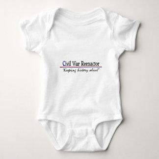 Civil War Reenactor Baby Bodysuit