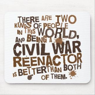 Civil War Reenactor Gift Mouse Pad