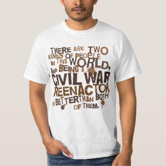 Civil War Reenactor Gift T-Shirt