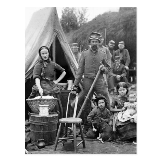 Civil War Road Trip, 1861 Postcard