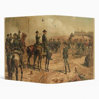 Civil War Siege of Atlanta by Thure de Thulstrup Binder