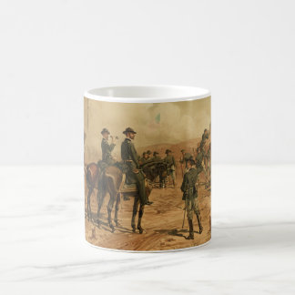 Civil War Siege of Atlanta by Thure de Thulstrup Classic White Coffee Mug