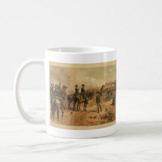 Civil War Siege of Atlanta by Thure de Thulstrup Mug