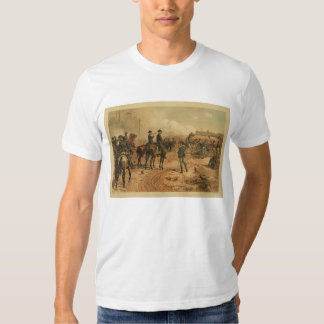 Civil War Siege of Atlanta by Thure de Thulstrup Tee Shirt