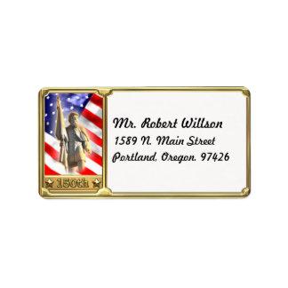 Civil War Soldier Commemorative Address Label