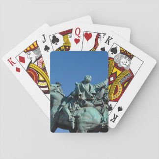 Civil War Soldier Statue in Washington DC_ Playing Cards