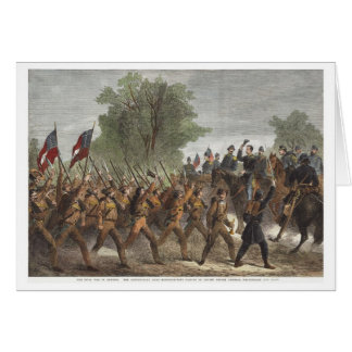 Civil War Stationery Note Card
