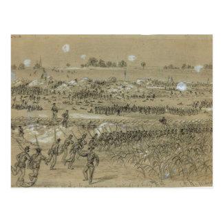 Civil War: Union Army in Petersburg and Richmond Postcard