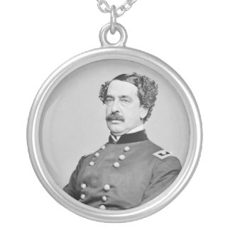 Civil War Union General Abner Doubleday Personalized Necklace