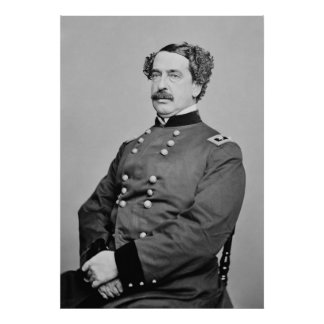 Civil War Union General Abner Doubleday Poster