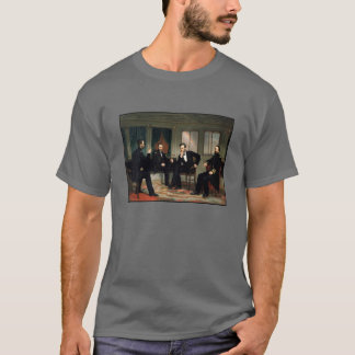 Civil War Union Leaders Painting T-Shirt