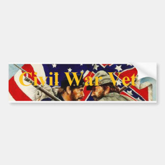 Civil War Veteran Bumper Sticker