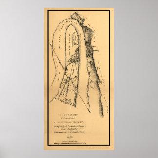 Civil War Vicksburg, Mississippi Poster