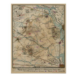 Civil War Virginia Poster
