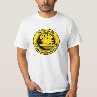 Civilian Conservation Corps CCC commemorative Shirts
